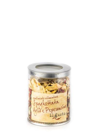 Nudelgewürz mit Knoblauch und Pfefferoni