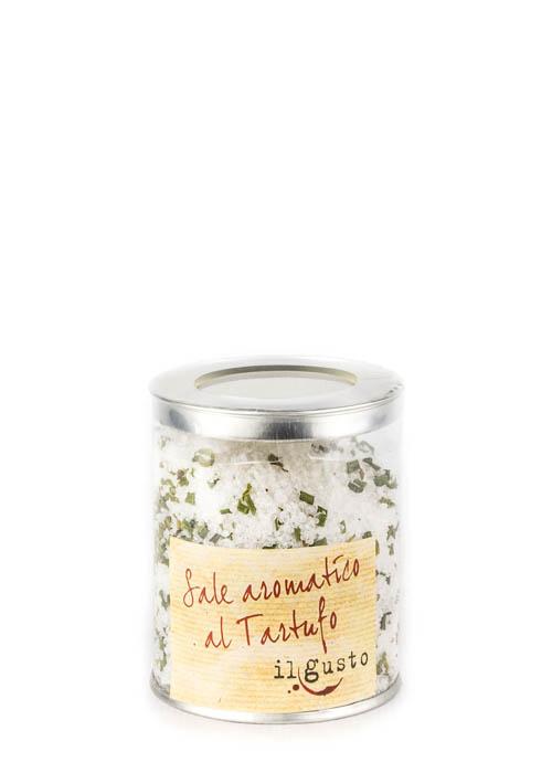 Salz mit Trüffel verfeinert