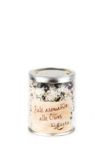 Salzmischung mit Olive